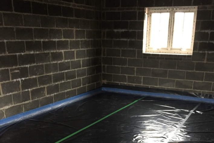 all membranes, insulation and perimeter edge supplied and fitted by us